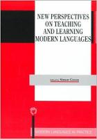 jacket Image for New Perspectives on Teaching and Learning Modern Languages