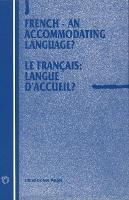jacket Image for French - An Accommodating Language?