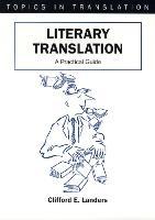 jacket Image for Literary Translation