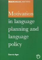jacket Image for Motivation in Language Planning and Language Policy