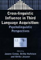 jacket Image for Cross-Linguistic Influence in Third Language Acquisition
