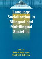 jacket Image for Language Socialization in Bilingual and Multilingual Societies