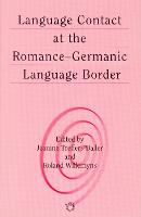jacket Image for Language Contact at the Romance-Germanic Language Border