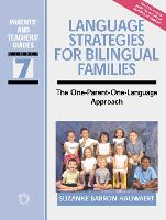 jacket Image for Language Strategies for Bilingual Families