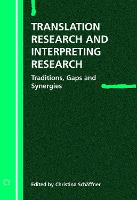 jacket Image for Translation Research and Interpreting Research