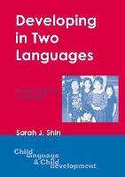 jacket Image for Developing in Two Languages