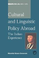 jacket Image for Cultural and Linguistic Policy Abroad