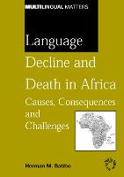 jacket Image for Language Decline and Death in Africa