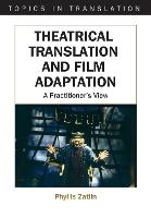 jacket Image for Theatrical Translation and Film Adaptation
