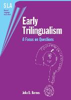 jacket Image for Early Trilingualism