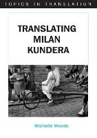 jacket Image for Translating Milan Kundera