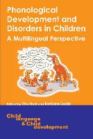 jacket Image for Phonological Development and Disorders in Children