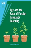 jacket Image for Age and the Rate of Foreign Language Learning