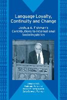 jacket Image for Language Loyalty, Continuity and Change