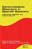 jacket Image for Communication Disorders in Spanish Speakers