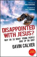 Jacket image for Disappointed With Jesus?