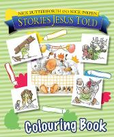 Jacket image for Stories Jesus Told Colouring Book