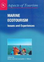 jacket Image for Marine Ecotourism