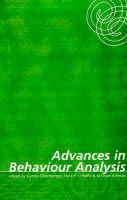 Advances in Behaviour Analysis Jacket Image