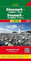 Jacket image for Denmark, Greenland, Faroes Map