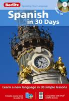Jacket image for Spanish in 30 Days