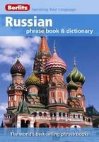 Jacket image for Russian Phrase Book and Dictionary