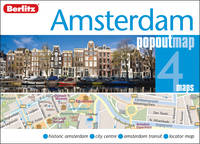 Jacket image for Amsterdam PopOut Map