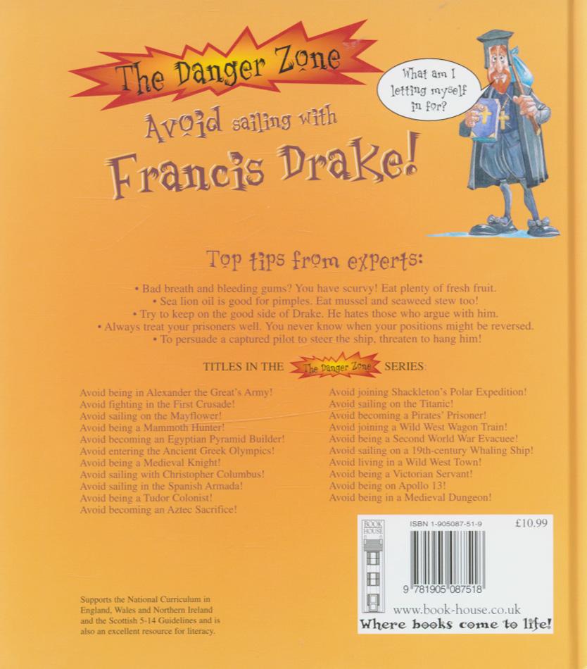 Avoid Sailing With Francis Drake By Stewart David border=
