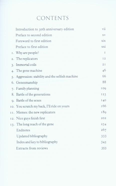 richard dawkins the selfish gene pdf