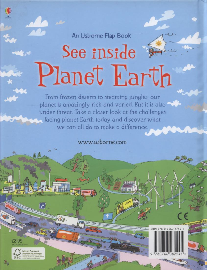 """See inside Planet Earth"" at Usborne Children's Books"