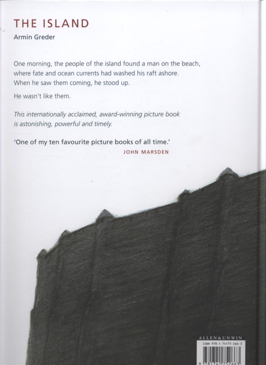 the island by armin greder The condition of animals imprisoned for our entertainment – or armin greder's  the island – which denounces the situation of immigrants.