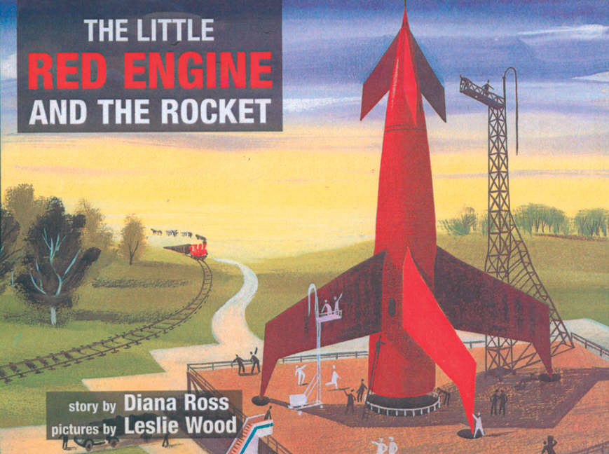 The Little Red Engine and the rocket