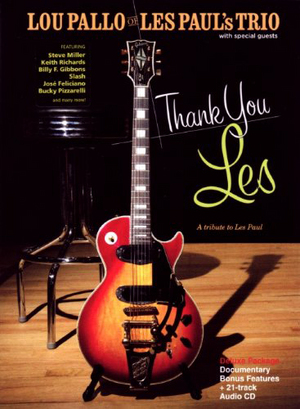 Lou Pallo: Thank You Les - A Tribute to Les Paul (with CD) (Retail Only)