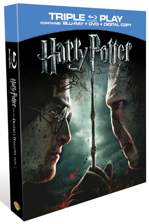 Harry Potter and the Deathly Hallows: Part 2 (2011) (Blu-ray) (+ DVD and Digital Copy - Triple Play) (Retail Only)