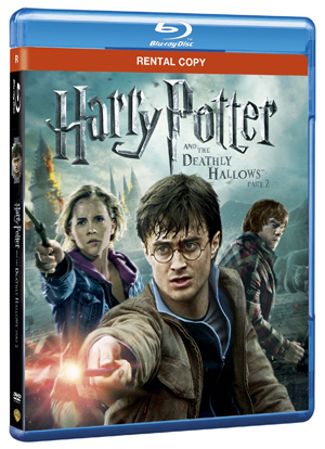 Harry Potter and the Deathly Hallows: Part 2 (2011) (Blu-ray) (Rental)