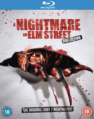 A Nightmare On Elm Street 1-7 (1994) (Blu-ray) (Box Set) (Retail / Rental)