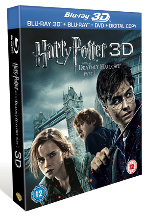 Harry Potter and the Deathly Hallows: Part 1 (2010) (Blu-ray) (3D Edition) (Retail Only)