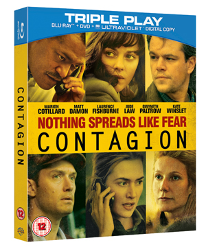 Contagion (2011) (Blu-ray) (+ DVD and UltraViolet Copy - Triple Play) (Deleted)