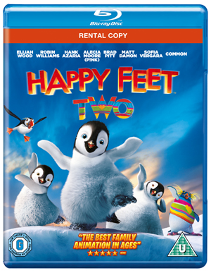Happy Feet 2 (2011) (Blu-ray) (Rental)