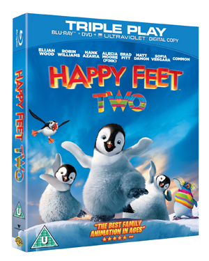 Happy Feet 2 (2011) (Blu-ray) (+ DVD and UltraViolet Copy - Triple Play) (Retail Only)
