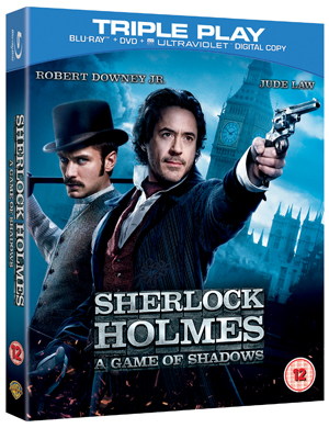 Sherlock Holmes: A Game of Shadows (2011) (Blu-ray) (+ DVD and UltraViolet Copy - Triple Play) (Retail Only)