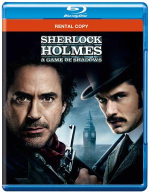Sherlock Holmes: A Game of Shadows (2011) (Blu-ray) (Rental)