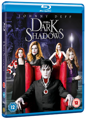 Dark Shadows (2012) (Blu-ray) (with Digital Copy - Double Play) (Retail Only)