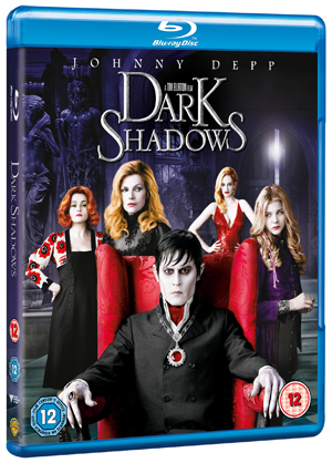 Dark Shadows (2012) (Blu-ray) (Rental)