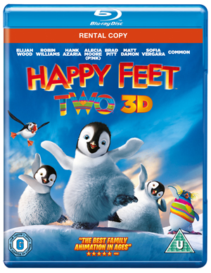 Happy Feet 2 (2011) (Blu-ray) (3D Edition) (Rental)