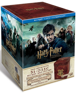 Harry Potter: The Complete 8 Film Collection (2011) (Blu-ray) (+ DVD and UltraViolet Copy - Triple Play (Ltd Edition)) (Retail O