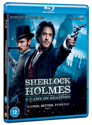 Sherlock Holmes: A Game of Shadows (2011) (Blu-ray) (Irish Version) (Retail Only)