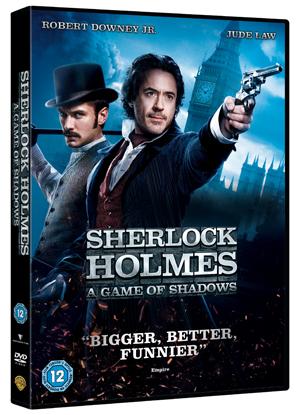 Sherlock Holmes: A Game of Shadows (2011) (Irish Version) (Retail Only)