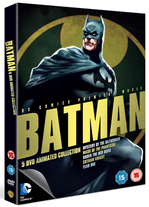 Batman: Mystery of the Batwoman/Mask of the Phantasm/Under the... (2011) (Box Set) (Retail / Rental)