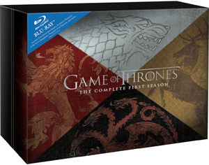 Game of Thrones: The Complete First Season (2011) (Blu-ray) (Gift Set) (Retail / Rental)